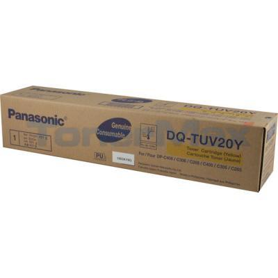 PANASONIC DP-C405 305 265 TONER CTG YELLOW